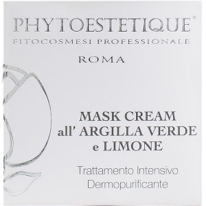 MASK CREAM alla Argilla verde e Limone - 50ml