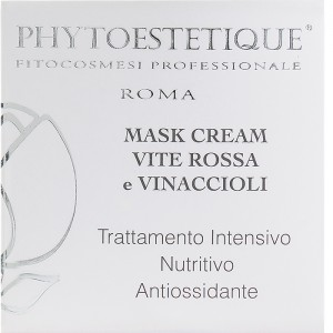 MASK CREAM alla Vite rossa e Vinaccioli - 50ml