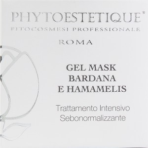 GEL MASK Bardana e Hamamelis - 50ml